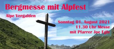 Bergmesse mit Alpfest