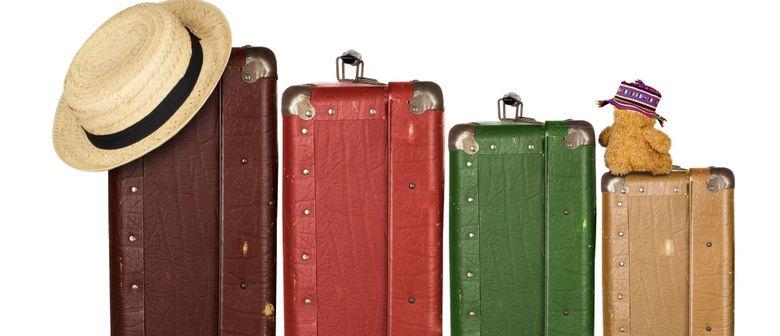 Auf die Koffer, fertig, los!!!