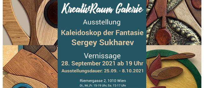 """Ausstellung """"Kaleidoskop der Fantasie"""". Sergey Sukharev"""