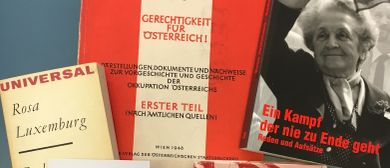 Bücherflohmarkt im Vorwärts-Haus