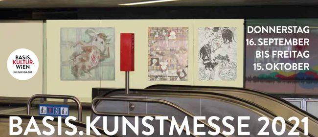 Basis.Kunstmesse findet 2021 im Wiener U-Bahn-Netz statt