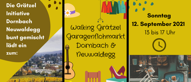 1. Walking Grätzel Garagenflohmarkt in Dornbach & Neuwaldegg