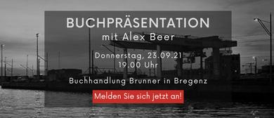 Buchpräsentation mit Alex Beer
