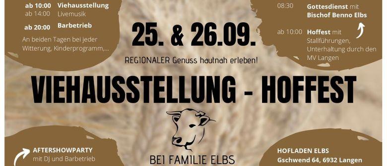 Hoffest und Viehausstellung