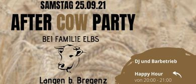 Hoffest - After Cow Party