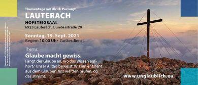 Gottesdienst - Thementage mit Ulrich Parzany