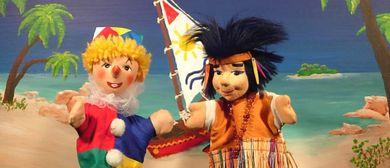 Friedburger Puppenbühne –Kasperl auf der Kokosnuss-Insel