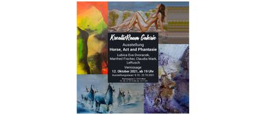 """Ausstellung """"Horse, Act und Phantasie"""""""