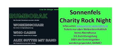 Sonnenfels Charity Rock 2021 Ludesch