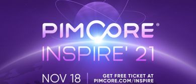 Pimcore Inspire 2021 – The Data & Experience Conference