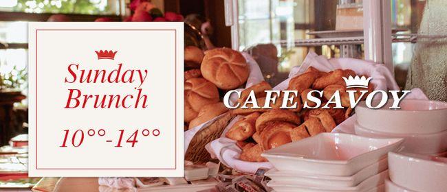 Sunday Brunch - Café Savoy
