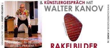 Ausstellungspräsentation Walter Kanov
