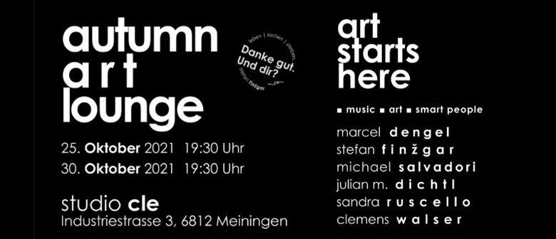 autumn art lounge | 2021