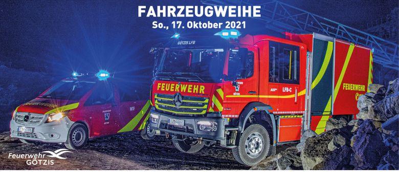 Fahrzeugweihe im Doppelpack | Feuerwehr Götzis