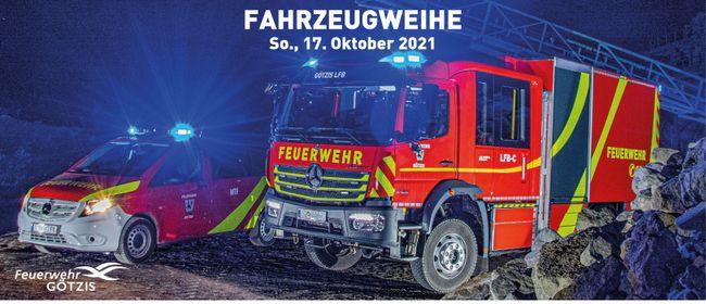 Fahrzeugweihe im Doppelpack   Feuerwehr Götzis