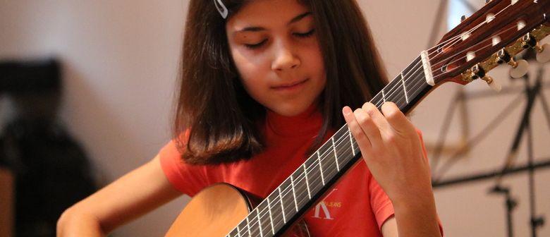 Vielsaitige Gitarrenmatinne