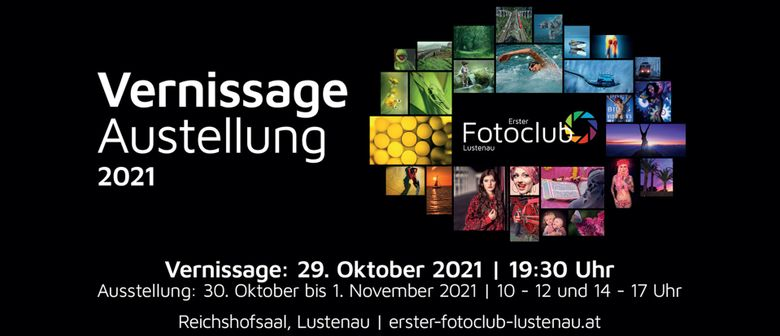 Vernissage 2021 - Erster Fotoclub Lustenau