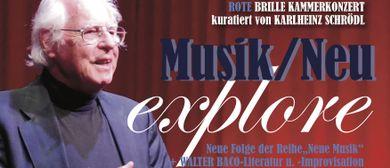 Musik/Neu – DIE ROTE BRILLE- KAMMERKONZERT