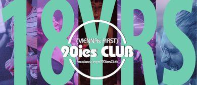 18 Jahre 90ies Club