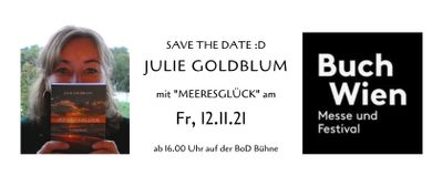 Julie Goldblum liest auf der BuchWien 2021