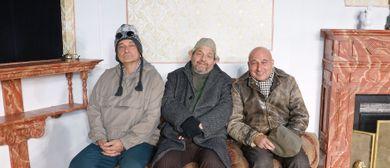 »Drei Männer im Schnee« mit Fälbl, Pichowetz und Steppan