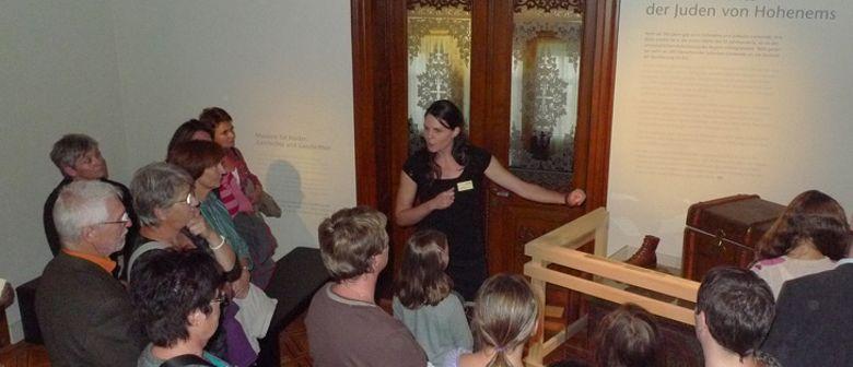 Führung im Jüdischen Museum Hohenems