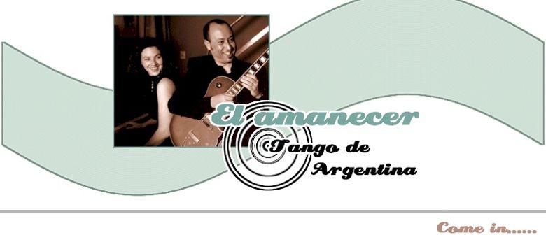 """""""EL AMANECER"""" DUO TANGO Argentinien"""