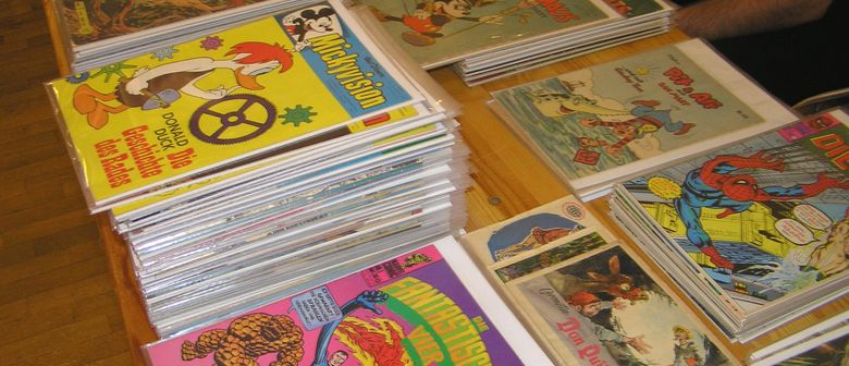 Comic & Film Börse - Fantastic Four Ausstellung