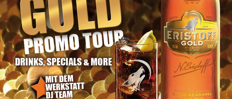 Eristoff Gold-Promo-Tour