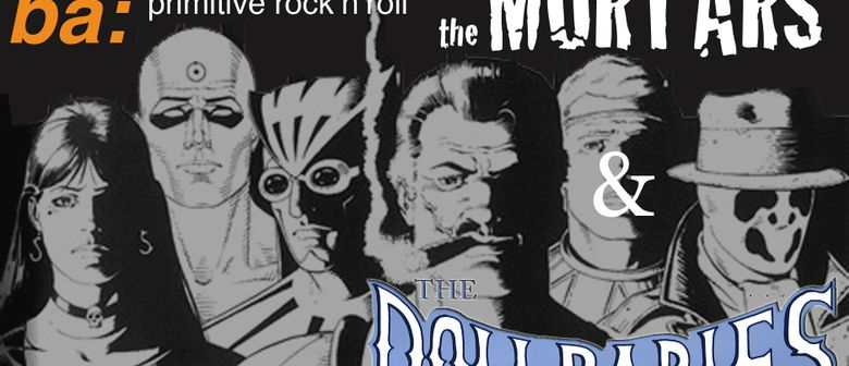 Live: The Mortars & The Dollbabies