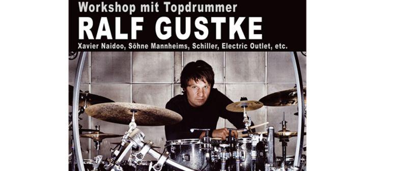 Schlagzeugworkshop mit Ralf Gustke (Söhne Mannheims, ...)