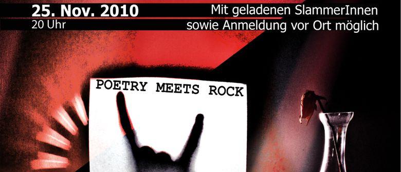 Poetry meets Rock