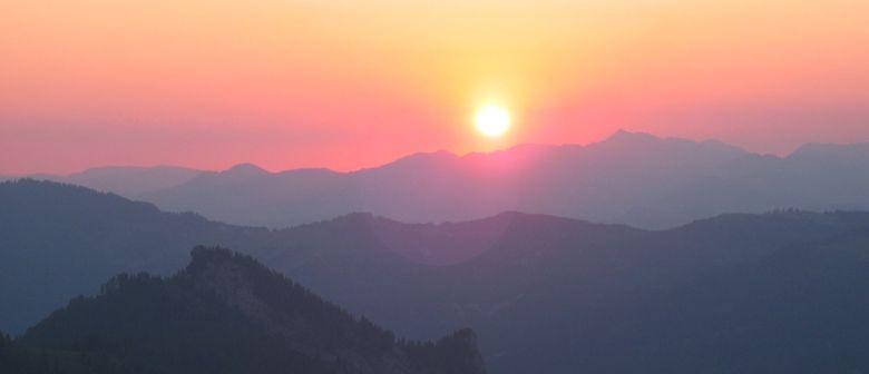 Nachtwanderung zum Sonnenaufgang - Hohe Kugel
