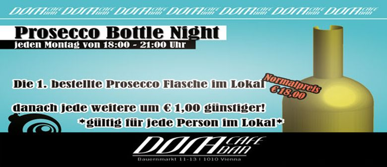 Prosecco Bottle Night