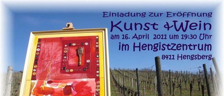 Eröffnung der Ausstellung Kunst & Wein