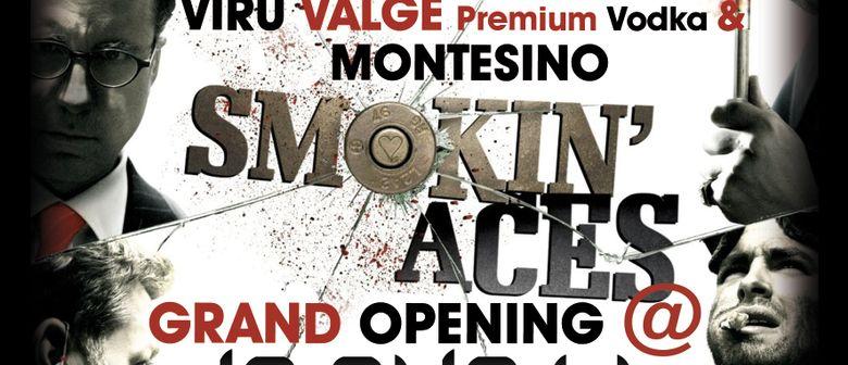 SMOKIN' ACES - GLAMOUR, POKER FLOOR und HIGH CLASS VODKA!