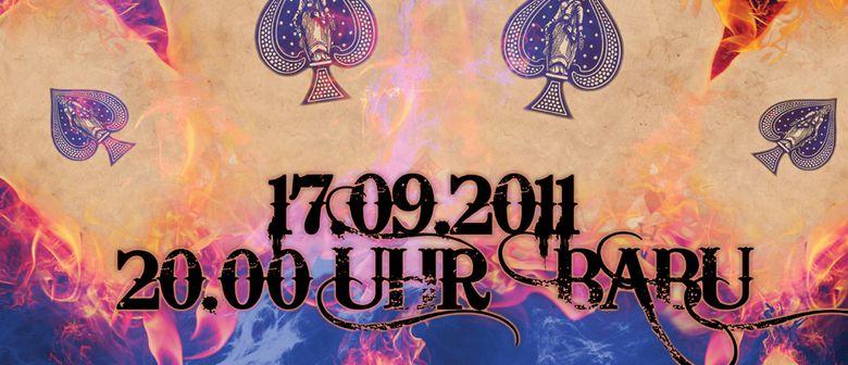 BURNING ACES @ CLUB BABU 17.9.2011