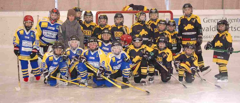 Eishockey Schnuppertraining für Buben und Mädchen
